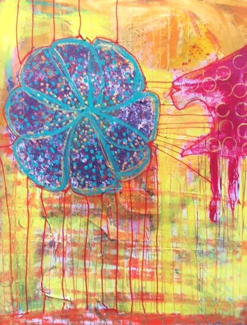 maleri, kunst, billedkunst, kunstner, dorthe gram, billede, kunst til salg, farver,